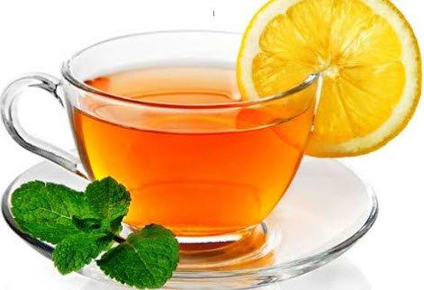 лимонов чай