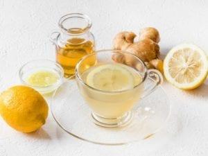 чай от джинджифил и лимон