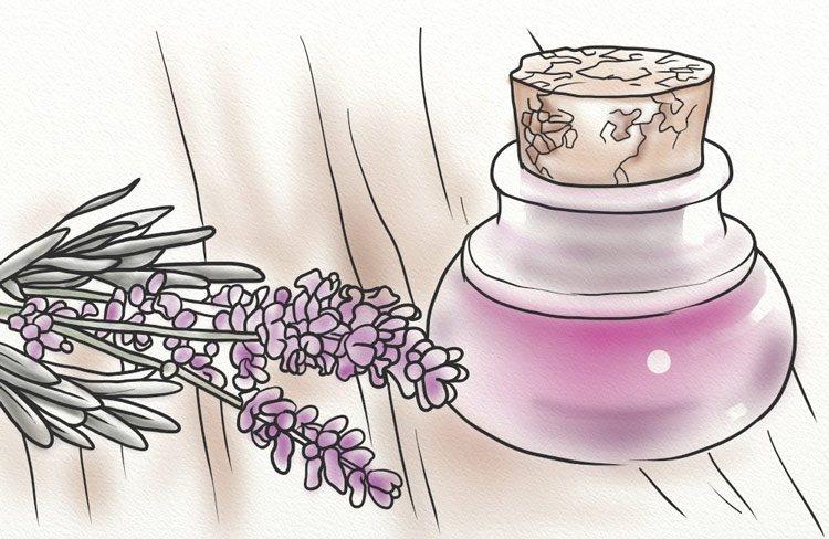 лавандулово масло за косопад