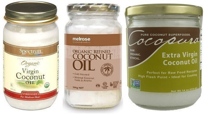 Видове-кокосово-масло