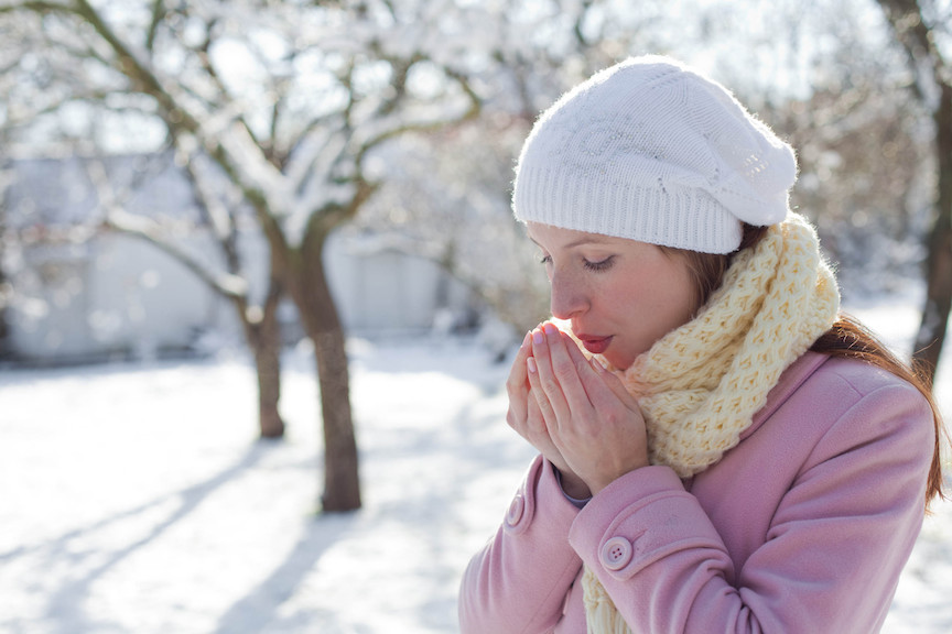 настинка-студено-време