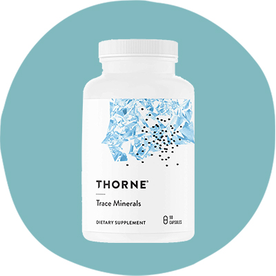 Минерали със селен на Thorne Trace