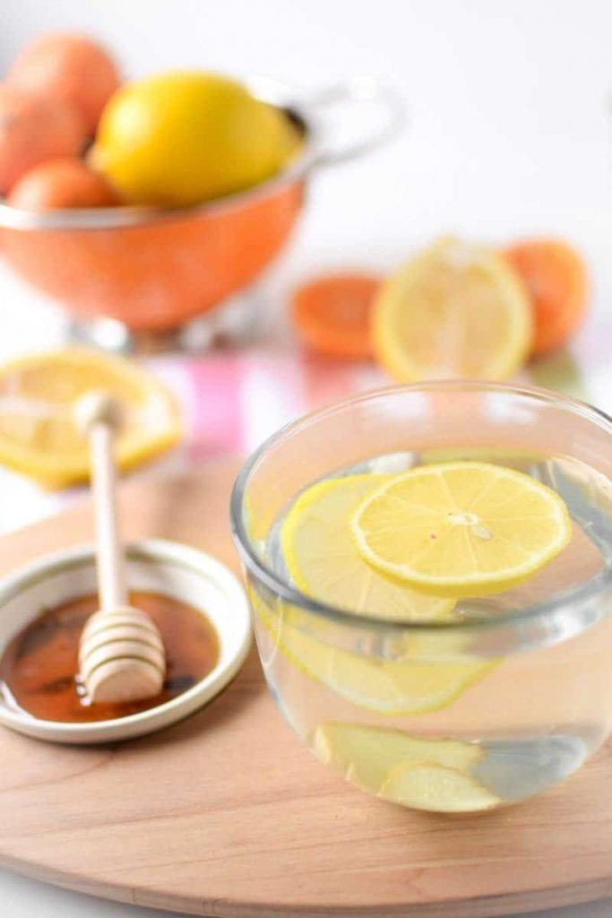 лимон, мед и джинджифил