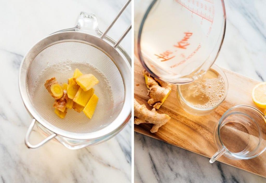 рецепта за чай от джинджифил